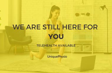 COVID-19 Update: Telehealth available